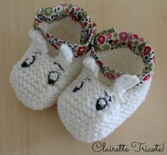 Adorable Moomin booties....WANT!!!!!!