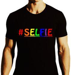 Hashtag SELFIE_Funny Humor_Rainbow Pride by ALLGayTees on Etsy, $19.95