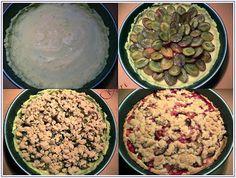 Lecker mit Geri: Zwetschgenkuchen mit Zimtstreuseln Сладкиш със сини сливи и…