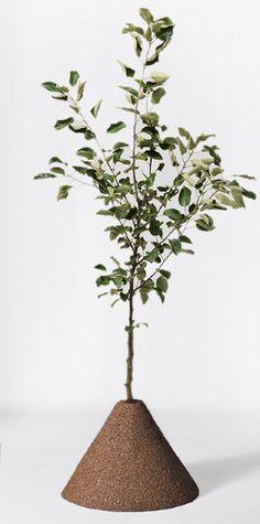 TERRA flowerpot - Katja Pettersson
