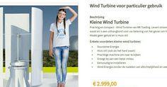 Kleine windmolen. Te voorzien van reclame.