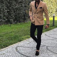 Cool mens fashion for work mensfashionforwork is part of Suit fashion - Trendy Mens Fashion, Mens Fashion Suits, Stylish Men, Mens Suits, Fashion Outfits, Suit Men, Men Casual, Gentleman Mode, Gentleman Style