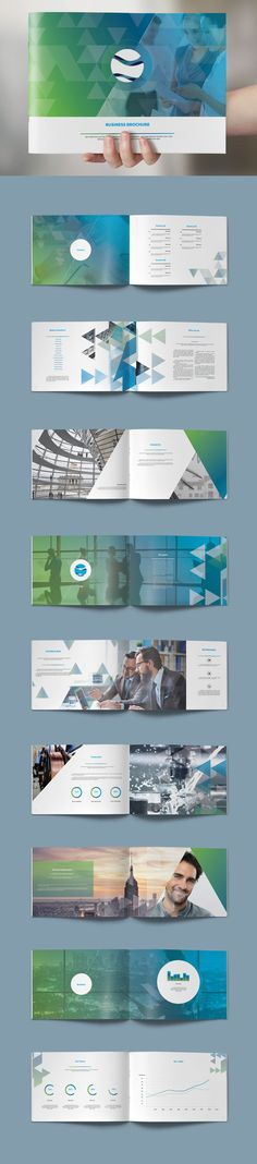 Modern Brochure 22 Pages Design Template InDesign INDD