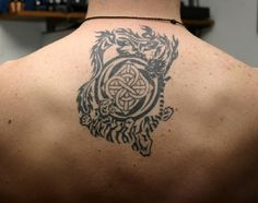 Various Sizes of Back Tattoo Ideas for Men: Amazing Tribal Back Tattoo Ideas For Men ~ Back Tattoos Inspiration