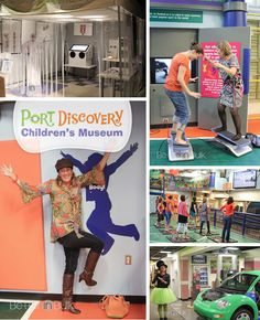 Port Discovery, Hands-on Children's Museum - Family Friendly Activities in Baltimore, Maryland