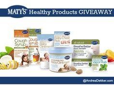 matys healthy product giveaway