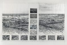 Ian McKeever Sand and Sea Series No. 8