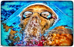 Martina Rossi of #Italy competes in the Women's 200m Backstroke final during Baku 2015 European Games (Photo by Harry Engels) | #swimming #backstroke #Baku2015 #EuropeanGame #sports