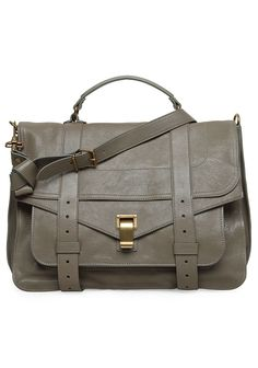 Proenza Shouler PS1 large bag. #gray, #bag