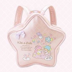 """Bags & backpacks"": Little Twin Stars backpack, as courtesy of Sanrio Pastel Goth Fashion, Kawaii Fashion, Lolita Fashion, Cute Fashion, Fashion Bags, Fashion Outfits, Pretty Outfits, Cute Outfits, Star Emoji"