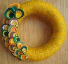 wreath 3 Guest Post: Yarn Wreaths