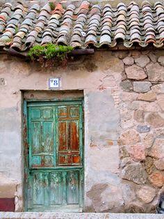 Door in Toledo Spain