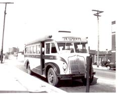 The NICE system is part of a rich history of public transport in Nassau County, including many independent bus companies that operated on Long Island up until the late 60's.  Here's a bus from the Hempstead Bus Co., circa 1940s.