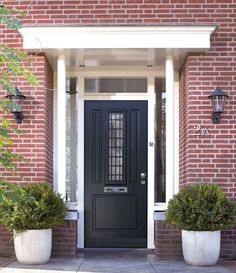 Replacing an old or dated looking front door is actually one of the most popular curb appeal ideas, making the choice of your a front door for a new home hugely . Door Curtains Designs, Front Door Curtains, Cool Curtains, Best Front Doors, Double Front Doors, House Windows, Windows And Doors, Single Front Door Designs, Latest Curtain Designs
