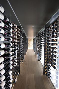 Love this wine cellar!!