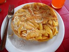 Chipsi Mayai is a popular Tanzanian dish made of eggs and potatoes that are pan fried like a Spanish tortilla.