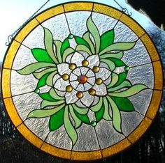 Magnolia stained glass