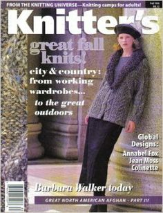 Knitter's Magazine (City & Country Knits, Issue 52, Vol. 15, No. 3): Nancy J. Thomas: Amazon.com: Books