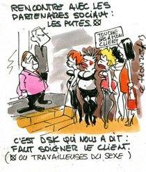 Les prostituées battent le pavé