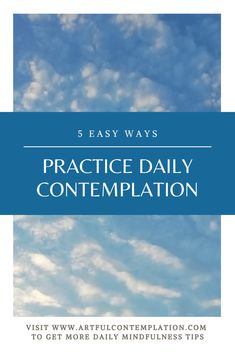 Contemplative practices are known to have radical and transformative effects. Artful Contemplation offers 5 easy ways to practice daily contemplation that integrates with the daily rhythms of your life. Beneath The Surface, Visionary Art, Humility, Perception, Easy, Life, Fine Art