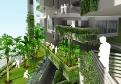 R4 Apartment, Skyrise Greenery Awards 2010 in Singapore
