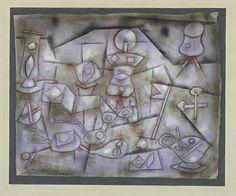 Paul Klee 'Still Life' 1924