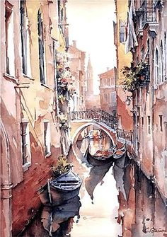 Christian Graniou-Watercolor.