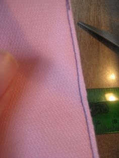 sew a straight line: French Seam