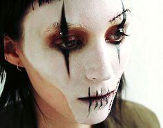 Simple Halloween Make Up / Dia de Los Muertos ~ Rooney Mara as Lisbeth, The Girl With The Dragon Tattoo