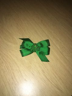 Small St. Patrick's day bow