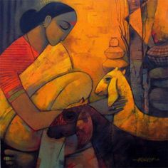 Sachin Akalekar paintings - Google Search