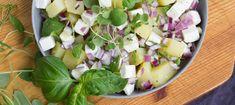 Perunasalaatti - Reseptit - Arla Cheese, Food, Essen, Meals, Yemek, Eten