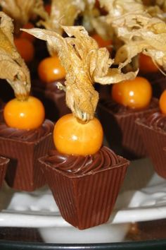 Doces Finos - Doce Talento Chocolate Delight, I Love Chocolate, Chocolate Shop, Mini Cakes, Cupcake Cakes, Cape Gooseberry, Waffle Cake, Macaron, How Sweet Eats