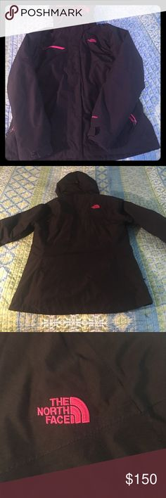 North face triclimate winter coat Like new! Worn for half a season before I out grew it.;( Ordered new off of the northface site for $250. Has an inner jacket that separates. Really 3 coats in one! Jackets & Coats