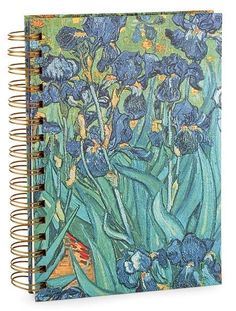 Make a statement with this eye-catching journal. Van Gogh flowers decorate the covers, and the double binding ensures that the journal can handle even the toughest...