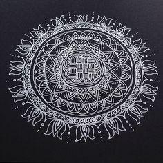 Silver Mandala | maria mercedes trujillo a | Flickr
