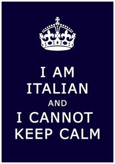 Si this is accurate for Italians.
