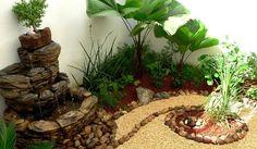 Arreglos, Adornos y Decoraciones para Jardines · Ideas · Diseños 3D y 2D ● Zen…