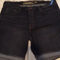 Men's Old navy jean shorts Mens old navy denim button fly shorts. New with tags. Size 42 Old Navy Jeans