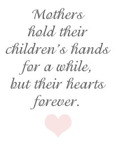 valentine quotes mothers