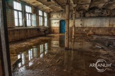 Photos from the labs of an abandoned pharmaceutical company in Germany.
