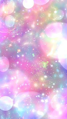By Artist Unknown. Unicornios Wallpaper, Pink Wallpaper Backgrounds, Rainbow Wallpaper, Pink Wallpaper Iphone, Glitter Wallpaper, Cool Backgrounds, Galaxy Wallpaper, Colorful Wallpaper, Cellphone Wallpaper