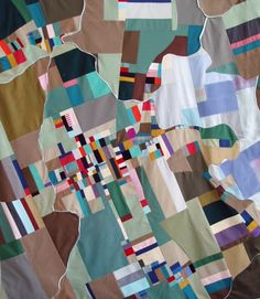 South River by Ian Hundley [quilt]