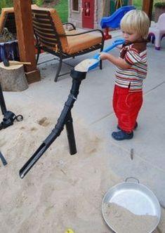 12 idées créatives pour un carré de sable épatant! - Brico enfant - Trucs et Bricolages #outdoorfurnitureforkids