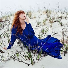 Florence Welch for Vogue Magazine by Anton Corbijn / 2015 Florence And The Machine, Florence The Machines, Florence Welch, Fleetwood Mac, Stevie Nicks, Hollywood Sign, Great Pic, Lorde, Vogue Magazine