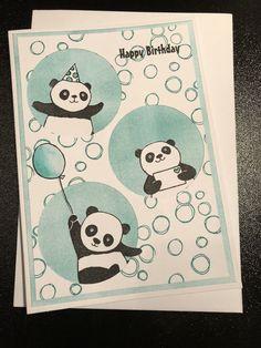 Party Panda's Stampin up