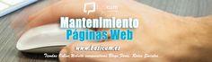Diseño de paginas web, Mantenimiento web, creación de tiendas online, posicionamiento y emarketing