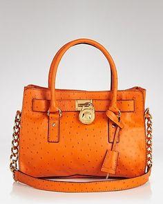 be0cedceb420 MICHAEL Michael Kors Satchel - Embossed Hamilton East West Handbags - All  Handbags - Bloomingdale s