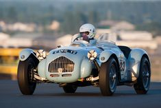 Allard J2 1950-1952. In 1950 the J2 came 3rd overall at Le Mans driven by Sydney Allard himself.