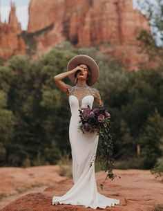 Trending Now: Modern Bridal Hats for Your Wedding Day - Green Wedding Shoes Bridal Trend with Hats // Boho Hipster Bride with Casey Quigley. Country Wedding Dresses, Best Wedding Dresses, Boho Wedding Dress, Wedding Attire, Wedding Tuxedos, Wedding Hats, Wedding Bride, Bella Wedding, Bride Groom